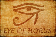 Eye of horus. Stock Photography