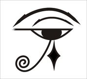 Eye of Horus - Egyptian symbol Stock Images
