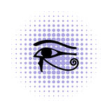 Eye of Horus icon in comics style Stock Photo
