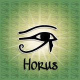 Eye of Horus Stock Photography