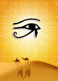 Eye of Horus royalty free illustration