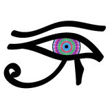 Eye of Horus Royalty Free Stock Photography