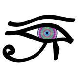 Eye of Horus. Mystical Eye of Horus, vector Stock Illustration