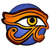 The Eye of Horus Symbol 2 Royalty Free Stock Image