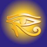Eye of Horus. Udjat - Eye of Horus - egyptian symbol Royalty Free Stock Photos