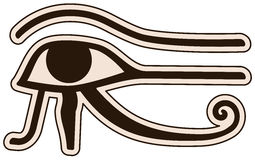 Eye of Horus vector illustration
