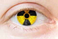 Eye. Human eye in macro mode Stock Photos