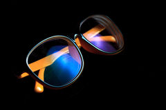 Eye i vetri Fotografia Stock