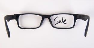 Eye i vetri vetri dell'occhio con il concetto sui precedenti Immagini Stock