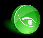 Eye Icon. Royalty Free Stock Photos