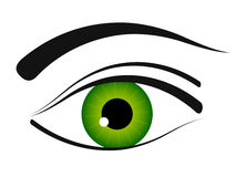 Eye icon Royalty Free Stock Photos