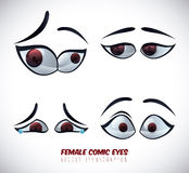 Eye icon. Design,  illustration eps10 graphic Stock Images