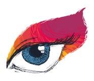 Eye icon. Design,  illustration eps10 graphic Royalty Free Stock Photos