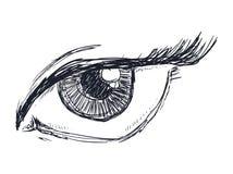 Eye icon Stock Photos