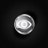 Eye icon, human eye symbol Royalty Free Stock Photography