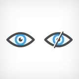 Eye icon Royalty Free Stock Images
