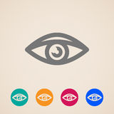 Eye icons Royalty Free Stock Photography