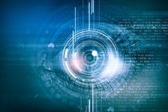Eye identification Stock Images