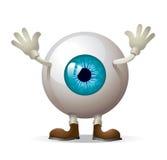 Eye illustration Stock Photography