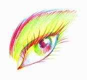 Eye Illustration Royalty Free Stock Images