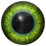 Eye iris generated hires texture Stock Image