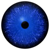 Eye iris generated Royalty Free Stock Photography