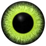 Eye iris generated Stock Photo