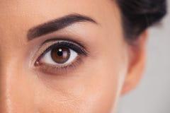 eye kvinnlign Royaltyfria Foton