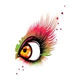 Eye l'estratto Fotografia Stock Libera da Diritti