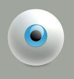 Eye la bola Imagen de archivo libre de regalías