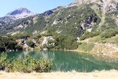 The Eye Lake in Pirin. The Eye Lake (Okoto) high in the Pirin mountains, Bulgaria Royalty Free Stock Photography