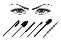 Eye liners Stock Photography