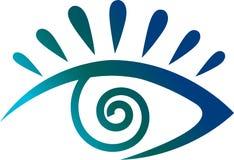 Eye logo Royalty Free Stock Images