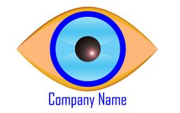 Eye logo Royalty Free Stock Image