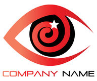 Eye logo Stock Image
