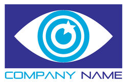 Eye logo Royalty Free Stock Photography