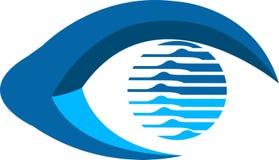 Eye logo Royalty Free Stock Photo