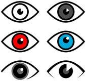 Eye logo Royalty Free Stock Photography