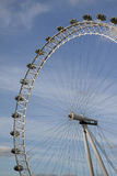 Eye of London 3 quarter view Stock Images
