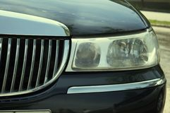 Eye of luxury car Royalty Free Stock Photos