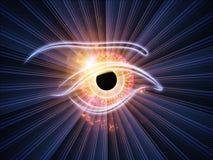 Eye of the machine Stock Image