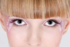 Eye make up Royalty Free Stock Images