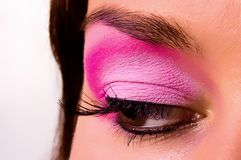 Eye with a make-up Royalty Free Stock Images