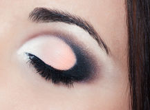 Eye make up Royalty Free Stock Photos