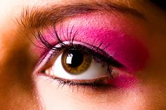 Eye with a make-up Stock Photo