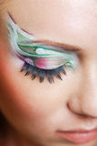 Eye make-up Royalty Free Stock Photo