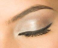 Eye with make-up Stock Photography