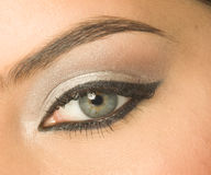 Eye with make-up Royalty Free Stock Image
