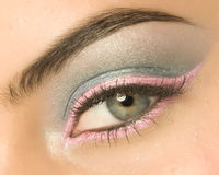 Eye with make-up Royalty Free Stock Photo