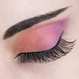 Eye make up close up Stock Image